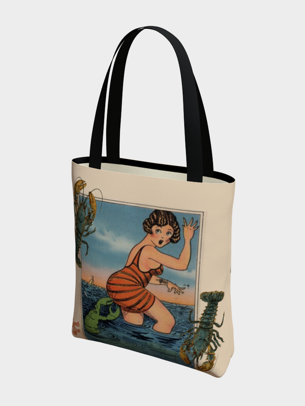 1920's Lobster - Basic Tote