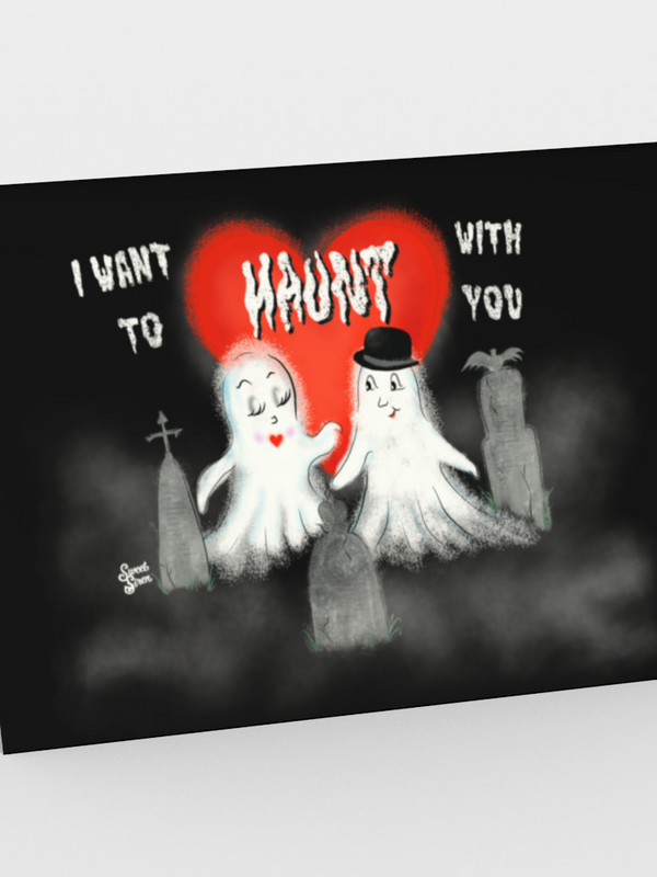 I Want to Haunt with You - CARDS Set of 3
