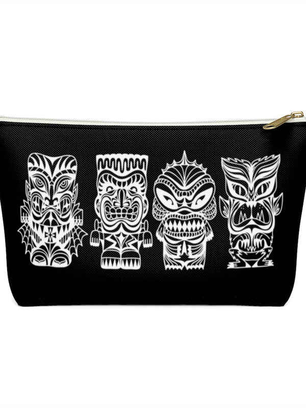 Tiki Monster Pouch - Small - Black