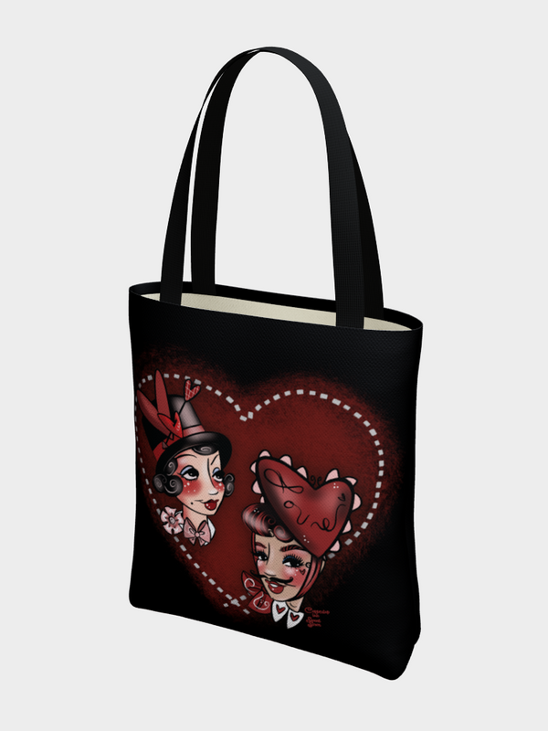 Hearts for Everyone - Basic Tote