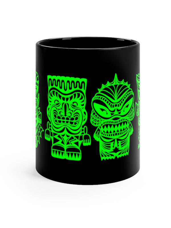 Tiki Monsters - SLIME GREEN - Coffee Mug