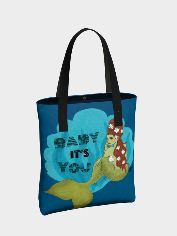 Baby It's You Mermaid - Urban Tote
