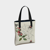 Peppermint Spiders Web - Urban Tote