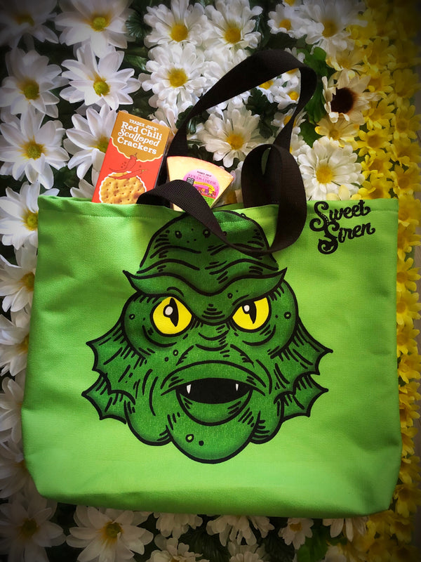 Creature Head - Beach Tote