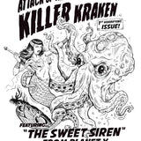Attack of the Killer Kraken! Unisex Tee