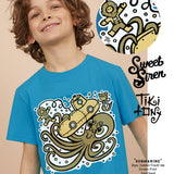 Boys-Diver tee- Tiki Tony Sweet Siren collection