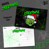 Spooky Holiday - Postcard SET