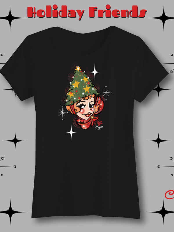 Holiday Friend 3 - Womens Tee