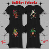 Holiday Friends 3 - Unisex Tee