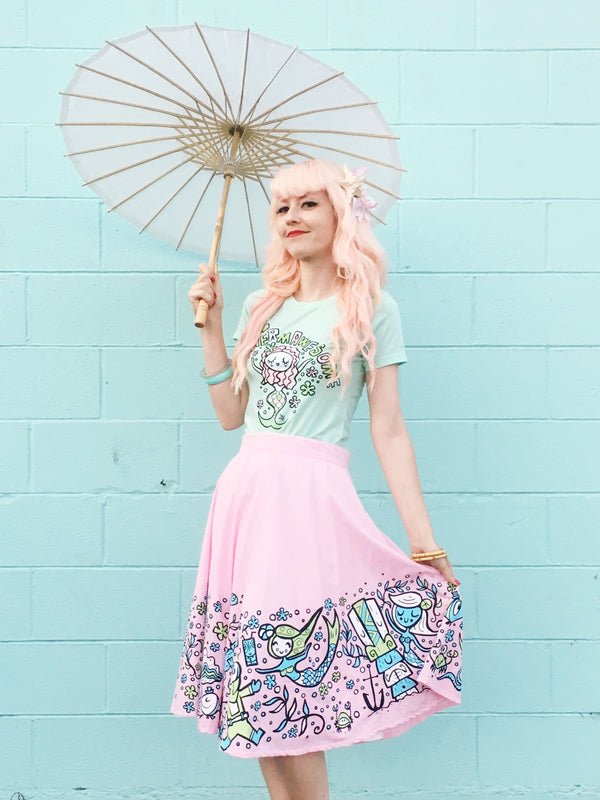 Tiki Tony Sweet Siren Mermaid Swing Skirt