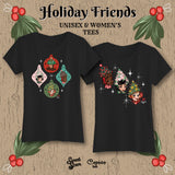 Holiday Friends 1 - Womens Tee