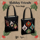 Ornament Holiday Friends - URBAN Tote