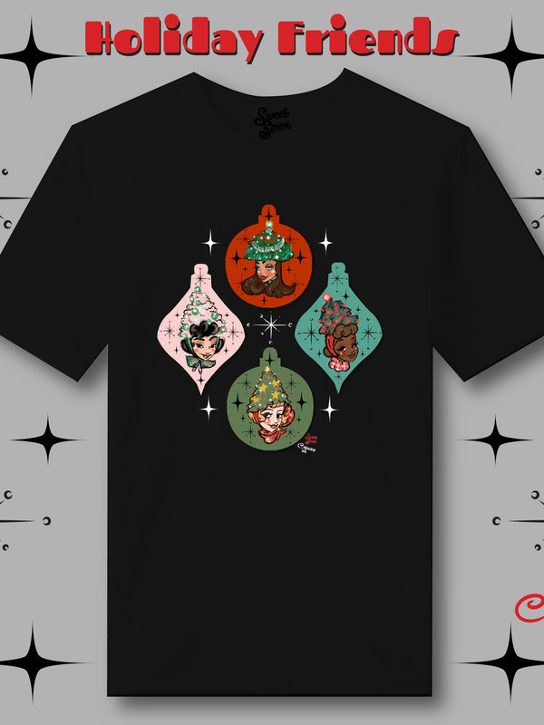 Ornament Holiday Friends  - UNISEX Tee