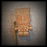 Frankenstein Monster Tiki Collar-Sweater Pin Set