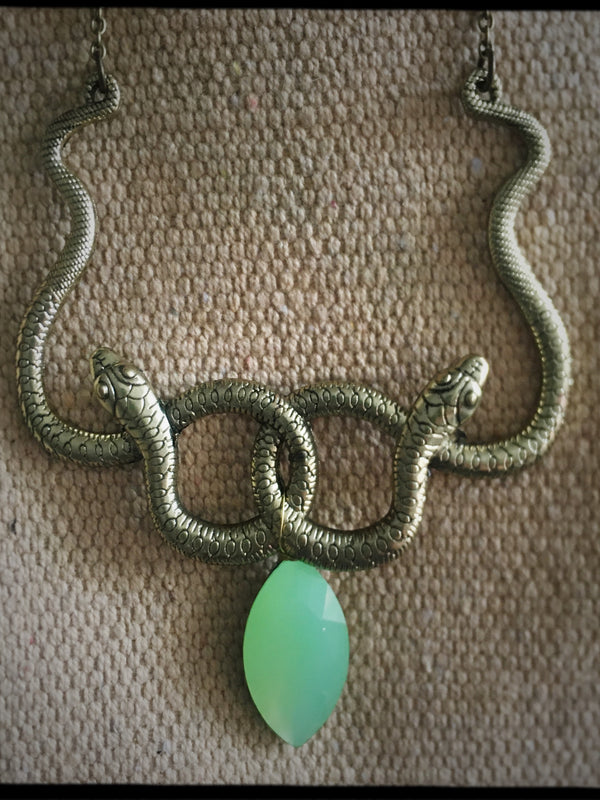 Double Snake Necklace