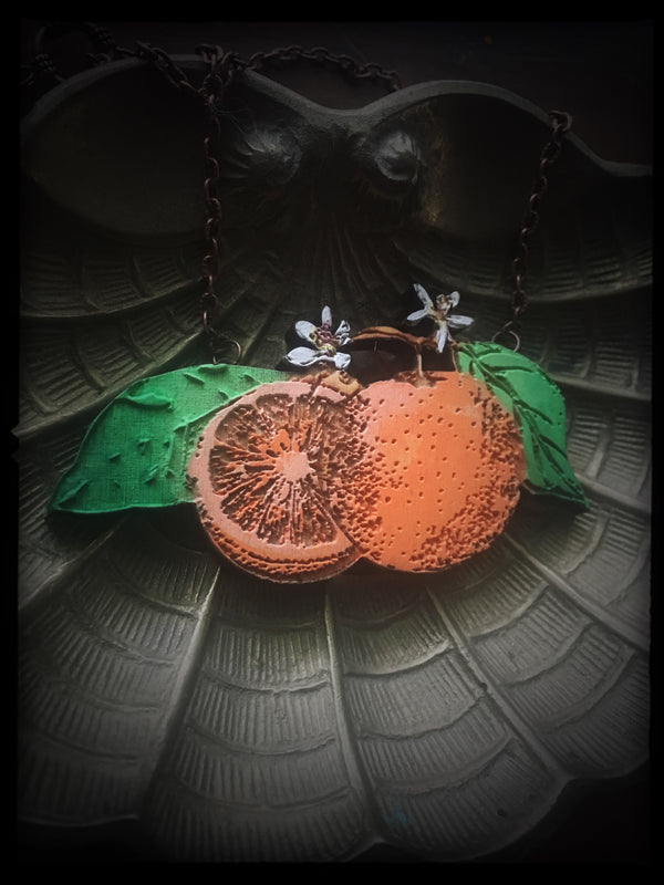 Orange Necklace - Small