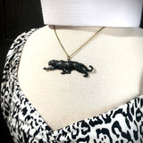 Black Leopard Necklace