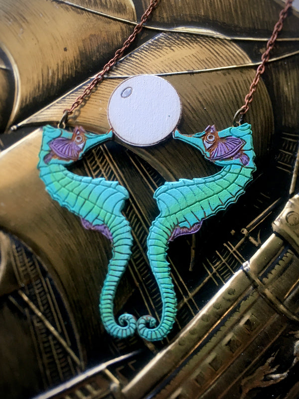 Seahorse Necklace - Large