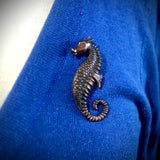 Vintage style Sea Horse Pin