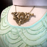 Victorian Sea Monster Necklace