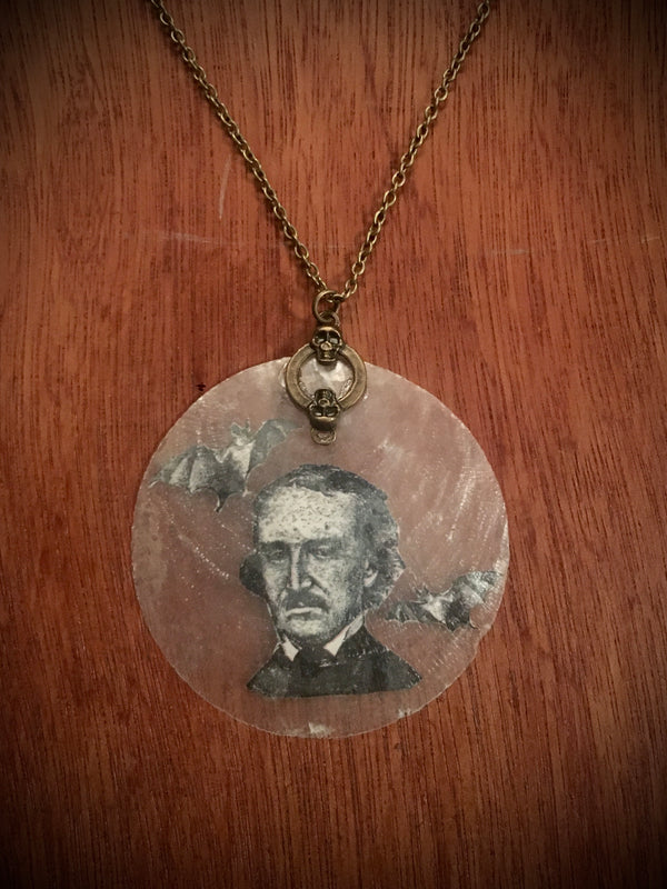 Batty Edgar Allen Poe - Necklace