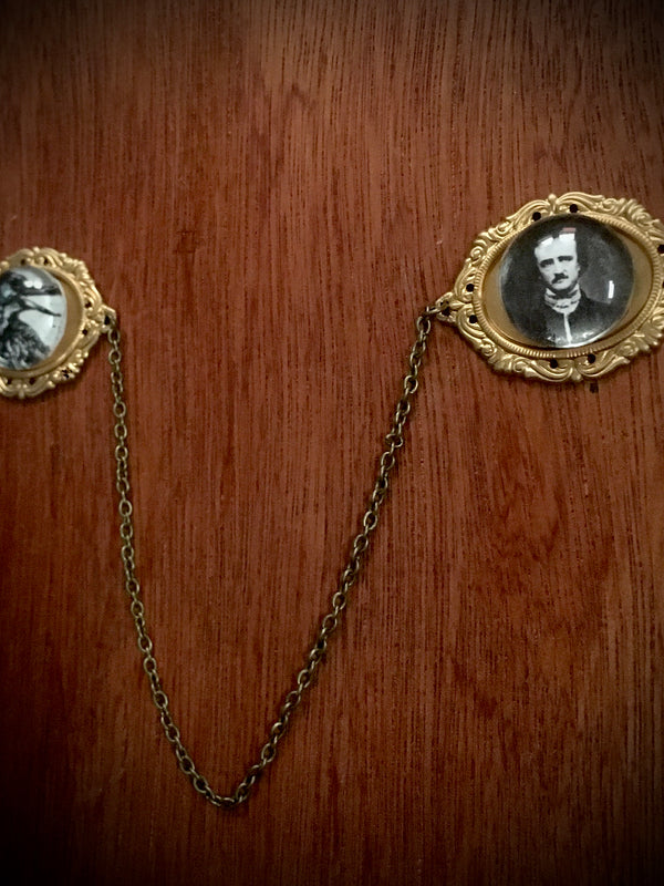 Nevermore Collar Pin Set