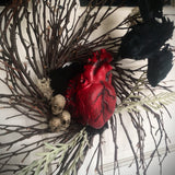 The Tell Tale BEATING Heart Wreath