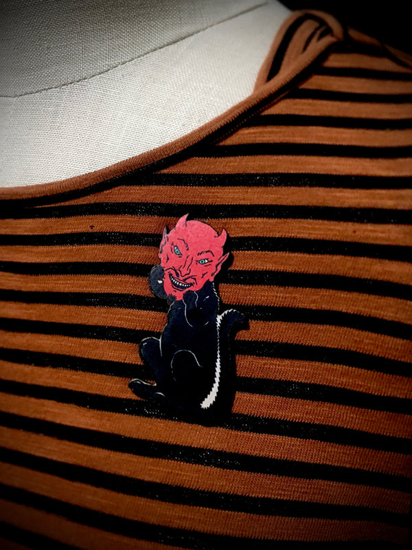 Devil Cat - PIN