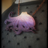 Octopus Necklace - Small - SPECIAL EDITION – PURPLE