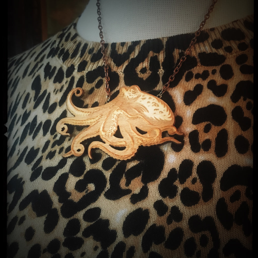 Octopus Necklace - Small