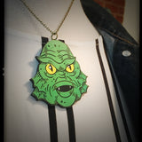Creature Head Necklace