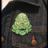Creature Head Pin