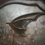 Bat Wing -Collar Pin set