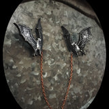 Bat Collar-Sweater Pin Set