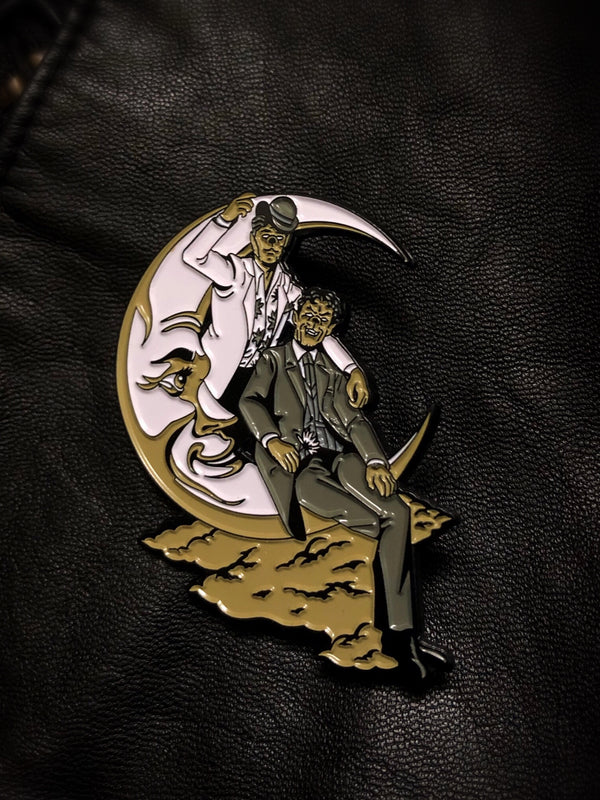 Queens of the Night - Werewolf Partners Enamel Pin