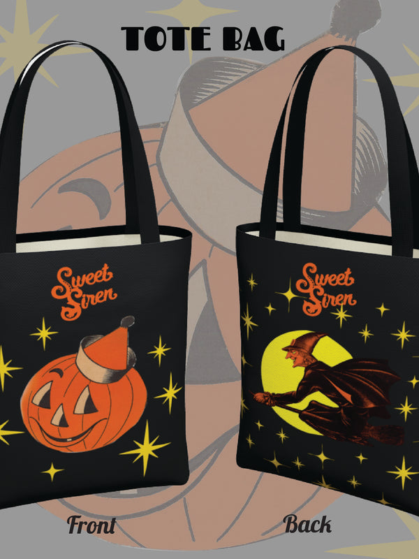 Retro Halloween Starlight - Urban Tote Bag