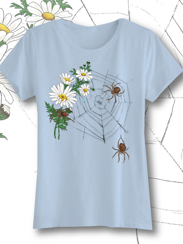 Daisy Spiderweb  -  Women's Tee - Next Level tee