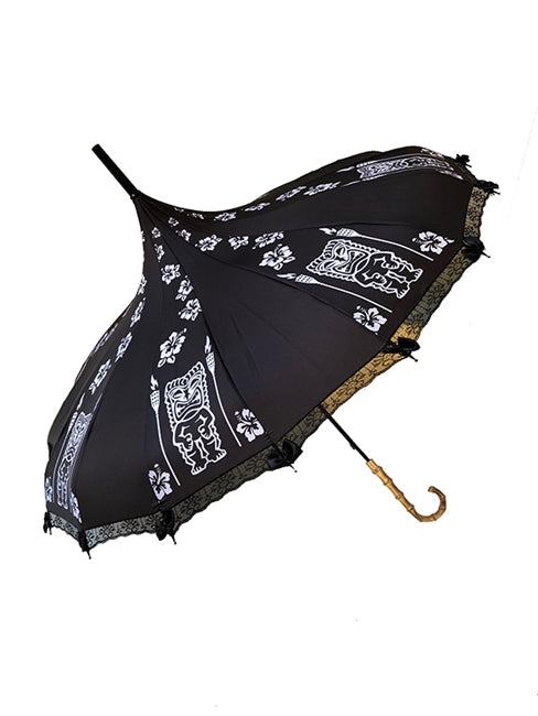 Dark Tiki Umbrella