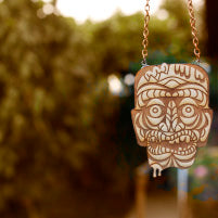 ZOMBIE Tiki Necklace - Large