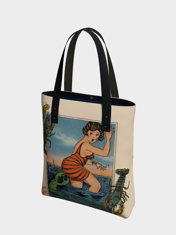 1920's Lobster - Urban Tote