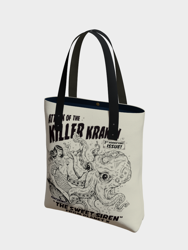 Attack of the Killer Kraken - Urban Tote