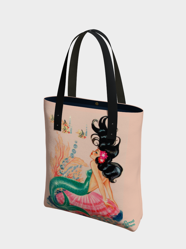60's Mermaid Starlet - Urban Tote