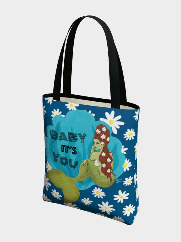 Baby It's You Mermaid - Basic Tote
