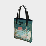 We're Alive! - Dark Teal - Urban Tote