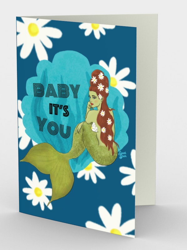 Baby It's You Mermaid - 3 Card Set