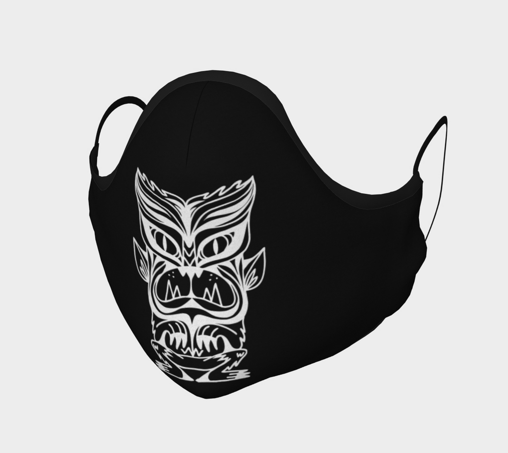 Wolfman Tiki Monster Mask