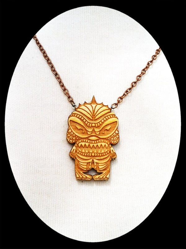 Creature Tiki Necklace - Small