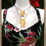 Wolfman Tiki Necklace - Large
