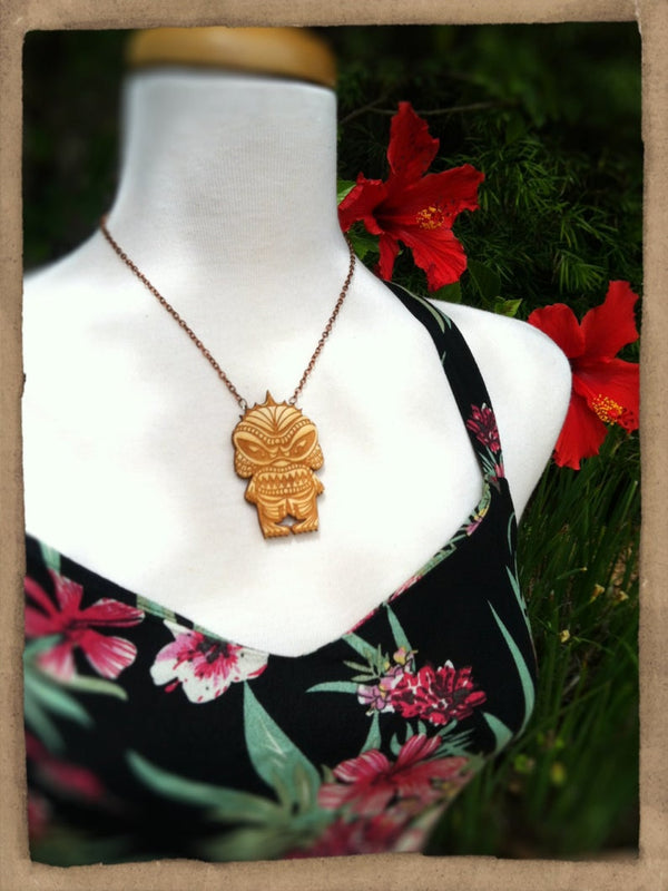 Creature Tiki Necklace - Large
