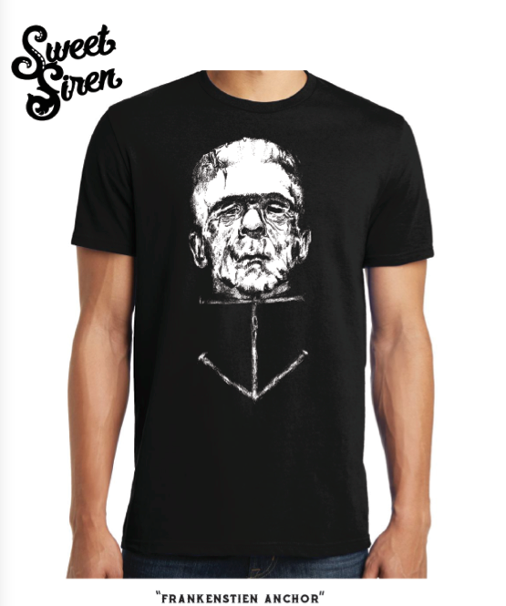 Frankenstein Anchor Tee